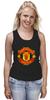 "Майка (Женская) ""Manchester United"" - england, uk, манчестер юнайтед, red devils, football club, футбольный клуб"