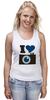 "Майка классическая ""Я люблю Фото (Селфи)"" - foto, фотоаппарат, селфи, selfie, фотки"