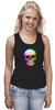 """Майка классическая """"Череп 3D"""" - skull, череп, абстракция, 3d"""