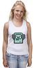 """Майка классическая """"BMO - The Adventure Time"""" - adventure time, время приключений, bmo, бимо, финном и джейком"""