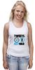 """Майка (Женская) """"Tweets Not War"""""""