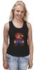 """Майка (Женская) """"Таблица Супер Марио"""" - игры, nintendo, химия, 8 бит, super mario, супер марио, таблица менделеева"""