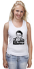 "Майка (Женская) ""Edward Snowden"" - америка, россия, цру, edward snowden, эдвард сноуден"