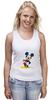 """Майка (Женская) """"Mickey"""" - микки маус, микки, mickey mouse"""