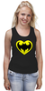 """Майка (Женская) """"Я люблю Бэтмена"""" - комиксы, batman, супергерои, бэтмен, человек-летучая мышь"""