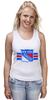 "Майка (Женская) ""Нью-Йорк Рейнджерс "" - хоккей, nhl, нхл, new york rangers, нью-йорк рейнджерс"