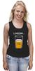 "Майка (Женская) ""Загрузка Пива на 69%"" - пиво, стакан, loading, beer, загрузка"