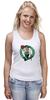 "Майка (Женская) ""Boston Celtics"" - nba, нба, бостон селтикс"