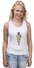 """Майка (Женская) """"футболка с моникой"""" - monica bellucci, моника белуччи"""