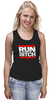 "Майка классическая ""Run Bitch"" - хип-хоп, run dmc, run bitch"