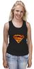"""Майка (Женская) """"Супермен"""" - comics, комикс, superman, супергерой, dc, superhero"""