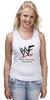 "Майка (Женская) ""WrestleMania"" - wwe, wrestling, wwf, рестлинг, wrestlemania"