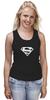 "Майка (Женская) ""Супермен"" - супер, supermen, s"