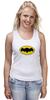 """Майка (Женская) """"бэтмен"""" - batman, бэтмен, dc, dc комиксы"""