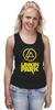 """Майка классическая """"Linkin Park """" - rock, альтернативный рок, alternative rock"""
