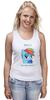 """Майка (Женская) """"the best pony"""" - pony, пони, rainbow, dash, best, лучшая, рэйнбоу, дэш"""
