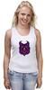 """Майка (Женская) """"Ночная Сова (Owl)"""" - сова, owl"""