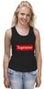 "Майка (Женская) ""Supreme "" - арт, supreme, nyc, clothing"