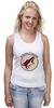 "Майка (Женская) ""Arizona Coyotes"" - спорт, хоккей, nhl, нхл, аризона койотс"