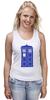 "Майка классическая ""Tardis (Тардис)"" - сериал, doctor who, доктор кто, машина времени, телефонная будка, time machine, phone box"
