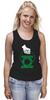 """Майка (Женская) """"Green Lantern """" - арт, green, dc, lantern, green lantern, dc comics, зелёный фонарь"""