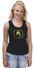 "Майка (Женская) ""Rockstar Staff T-Shirt"" - rockstar, rockstar games"