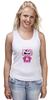"""Майка (Женская) """"Hello Kitty Joker"""" - hello kitty, joker, джокер, хелло китти"""