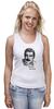 """Майка классическая """"Freddie Mercury - Queen"""" - queen, фредди меркьюри, freddie mercury, куин, rock music"""
