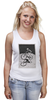 """Майка классическая """"девушка на велосипеде"""" - спорт, bmx, велосипед, street, bike, стрит, biking, велоспорт, девушка на велосипеде, дерт"""