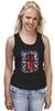 """Майка классическая """"Доктор Кто"""" - uk, британский флаг, доктор кто, тардис, doctor who"""