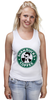 "Майка классическая ""Shanbucks coffee"" - 30 seconds to mars, 30 секунд до марса, альтернативный рок, шеннон лето, shannon leto"