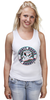 "Майка (Женская) ""Anaheim Ducks"" - 3d, хоккей, nhl, нхл, anaheim ducks"