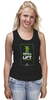 "Майка (Женская) ""ФитПит.рф - Спортивное питание"" - спорт, фитнес, yoda, йода, кросфит"