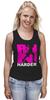 "Майка (Женская) ""ФитПит.рф - Спортивное питание"" - спорт, фитнес, run, кросфит, стильная майка"