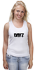 "Майка (Женская) ""DayZ T-shirt"" - игры, dayz, дейзи, dayz standalone"