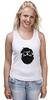 """Майка классическая """"Borodachi Black"""" - борода, усы, beard, бородачи, отпускаем бороду, усачи, borodachi, mustaches, beard in city, beard in moscow"""