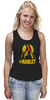"Майка (Женская) ""Боб Марлей (Bob Marley)"" - регги, боб марли, bob marley, reggae, ska, jamaica"
