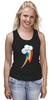 """Майка классическая """"Rainbow Dash cutie mark"""" - pony, mlp, cutie mark, радуга дэш"""
