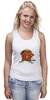 """Майка классическая """"The Angry Beavers"""" - бобер, бобры, крутые бобры, the angry beavers"""