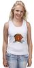 "Майка (Женская) ""The Angry Beavers"" - бобер, бобры, крутые бобры, the angry beavers"