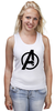 """Майка (Женская) """"Avengers"""" - marvel, мстители, avengers"""