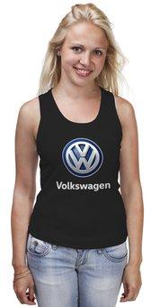 """Майка классическая """"Volkswagen"""" - авто, машина, мото, volkswagen, фольксваген"""