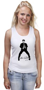 """Майка классическая """"CitySwag Elvis"""" - рок-н-ролл, elvis presley, elvis, the king, элвис пресли"""