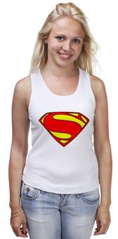 "Майка классическая ""Superman"" - супермен, superman, justice league, лига справедливости"