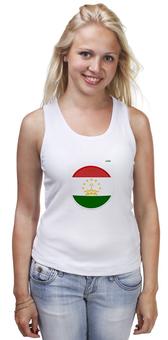 """Майка классическая """"Флаг Таджикистана"""" - арт, таджикистан, флаг, tajlife"""