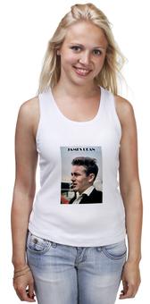 """Майка классическая """"Джеймс Дин James Dean"""" - стиль, кино, джеймс дин, james dean, бунтарь"""