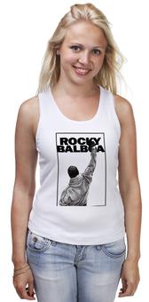 """Майка классическая """"Rocky Balboa"""" - рокки, rocky, сильвестр сталлоне, sylvester stallone, рокки бальбоа"""