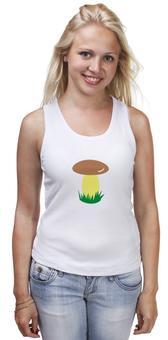 """Майка классическая """"грибок"""" - мультики, природа, гриб, грибник, футболку"""