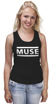 """Майка (Женская) """"!MUSE!"""" - рок, rock, muse, для мьюзеров, ябкупил"""