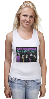 "Майка классическая ""OTRA tour One Direction"" - one direction, ван дирекшн, otra"